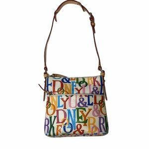 Dooney & Bourke Retro Grafica Multicolor Purse